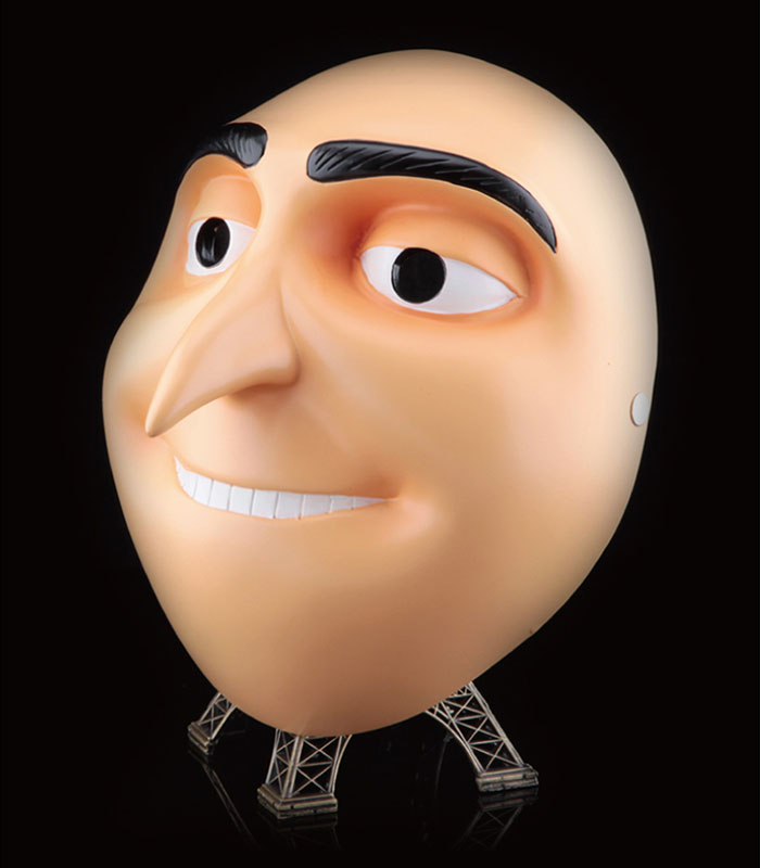 Movie Despicable Me Dad Gru Mask