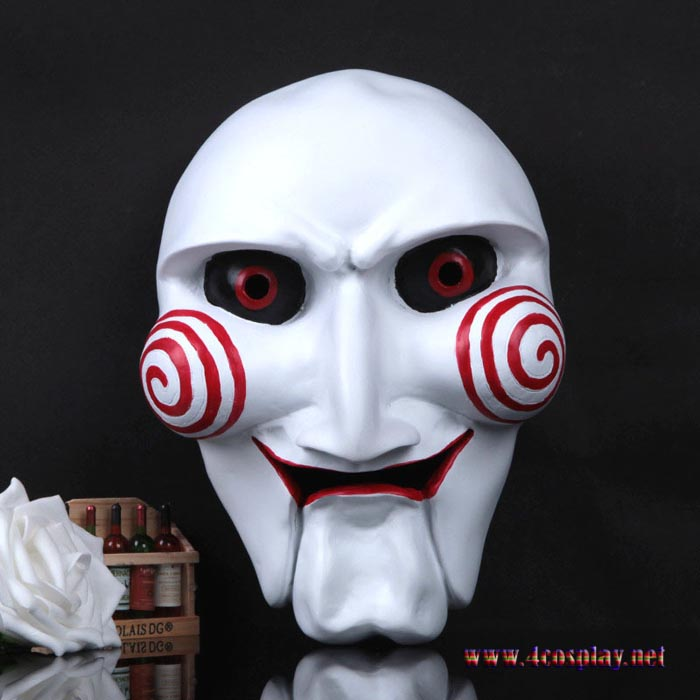 Movie Saw Cosplay Mask Billy Horror Halloween Party