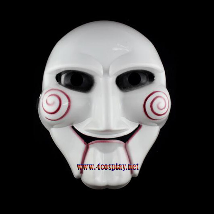Movie Saw Cosplay Mask Scary Horror Mask for Halloween Party