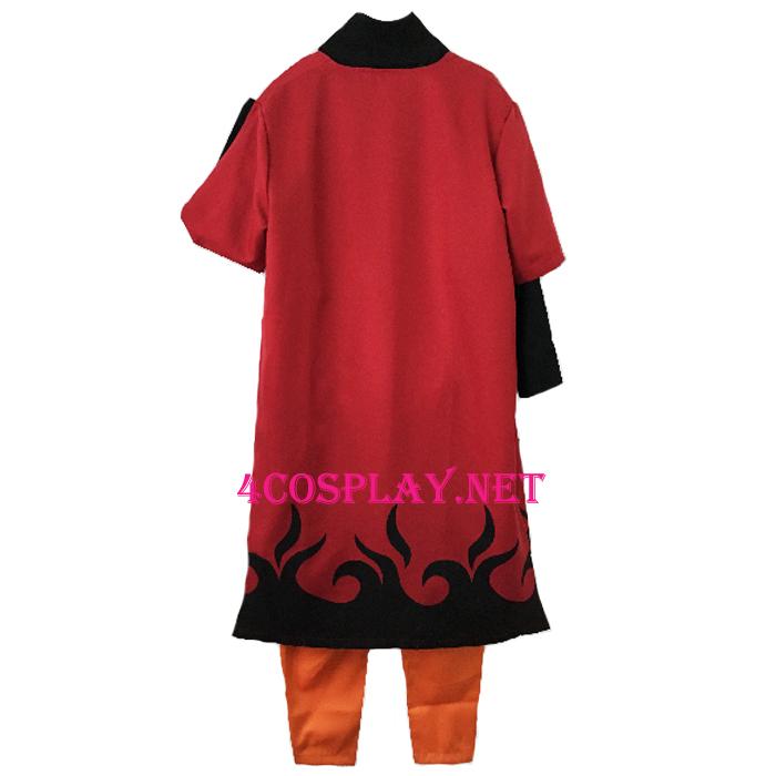 Naruto ナルト  Cosplay Costume Uzumaki Naruto Cloak うずまき ナルト