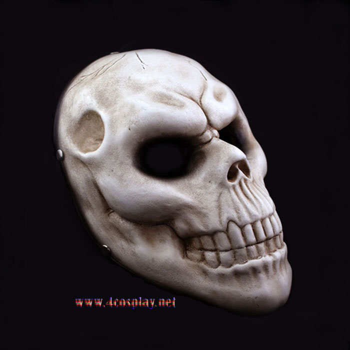 Payday 2 Horror Mask Skull Cosplay Mask Halloween Horror Mask