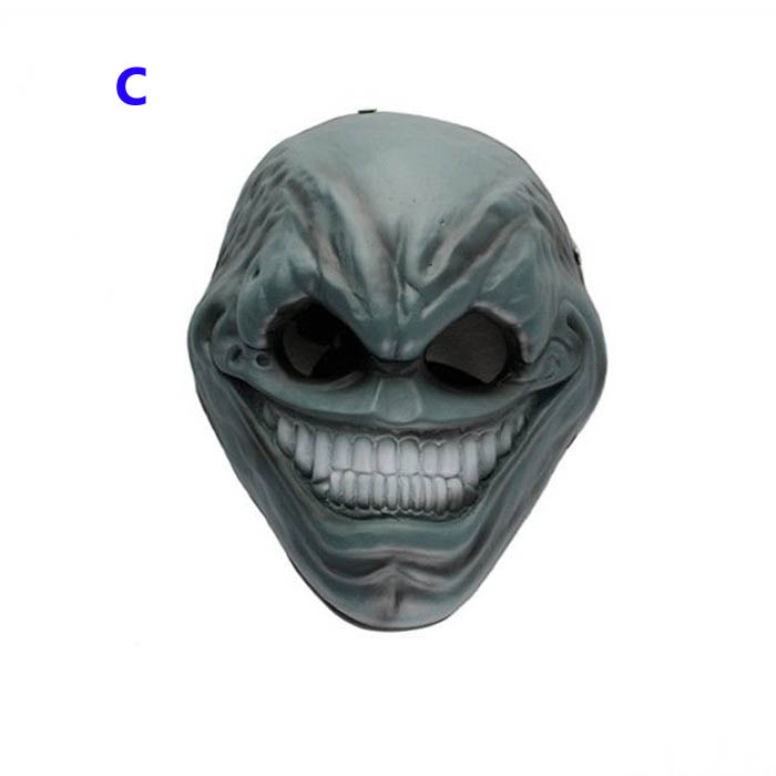 Payday 2 Horror Mask The Grin Cosplay Mask