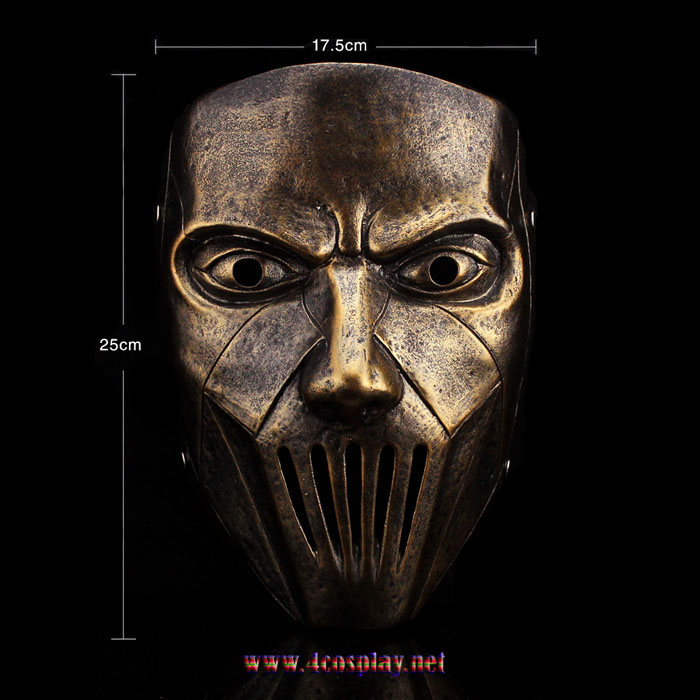 Heavy Metal Band Slipknot Mask Guitarist Mick Thomson Cosplay Mask