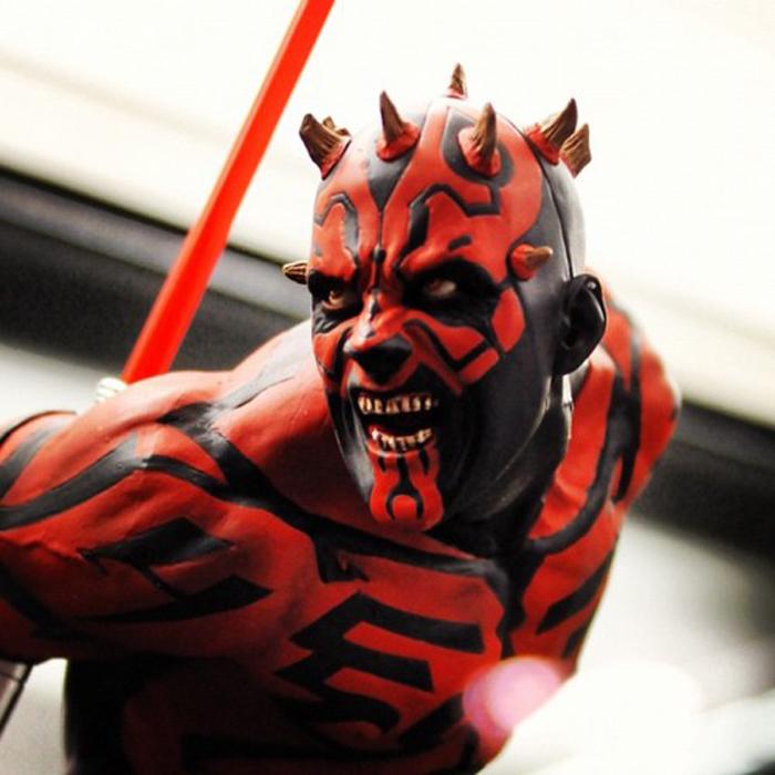 Star Wars Cosplay Darth Maul Cosplay Mask Halloween Horror Mask