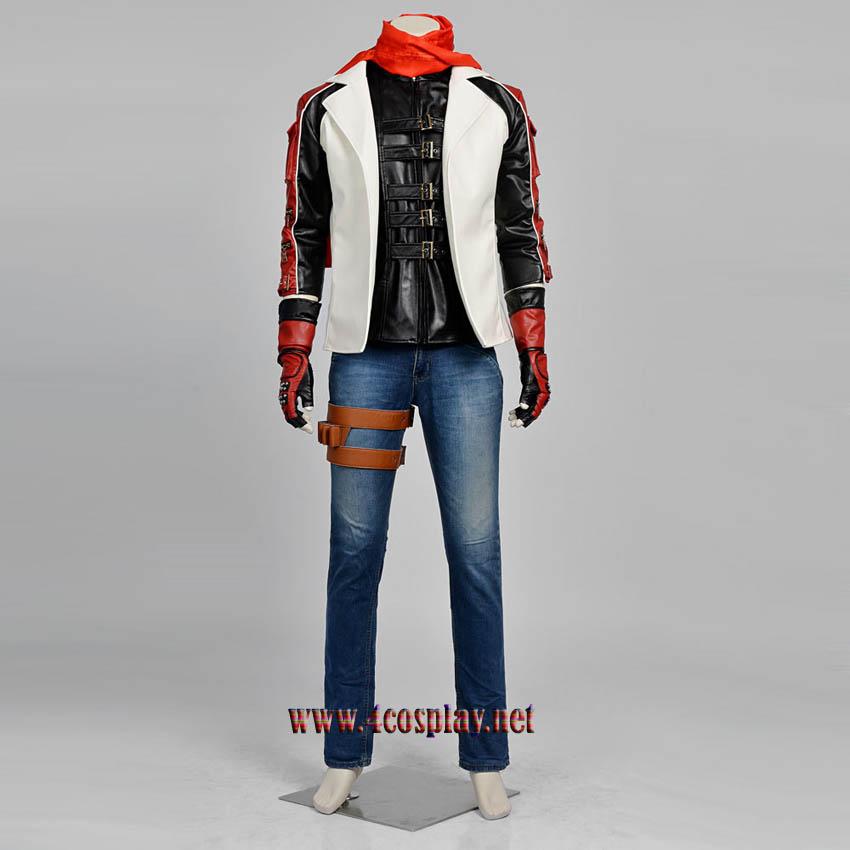 Tekken 6 Leo Kilsen Cosplay Costume Leo Deluxe Suit