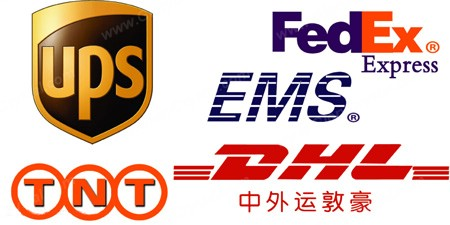 Express delivery from DHL/TNT/FedEx/EMS
