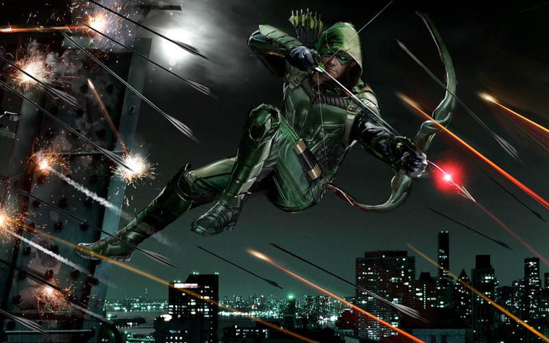 Green Arrow Season 4 Oliver Queen Cosplay Hoodie